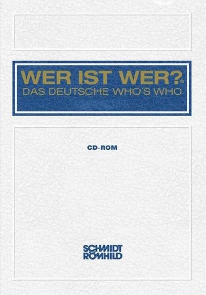 WER IST WER? - DAS DEUTSCHE WHO'S WHO 2011/2012, CD-ROM