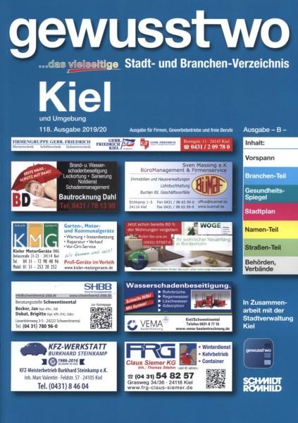 gewusst-wo Kiel und Umgebung 2019/20