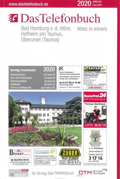 Das Telefonbuch Bad Homburg v.d. Höhe, Hofheim am Taunus, Oberursel (Ts.) 2020