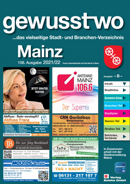 gewusst-wo Mainz 2021/22