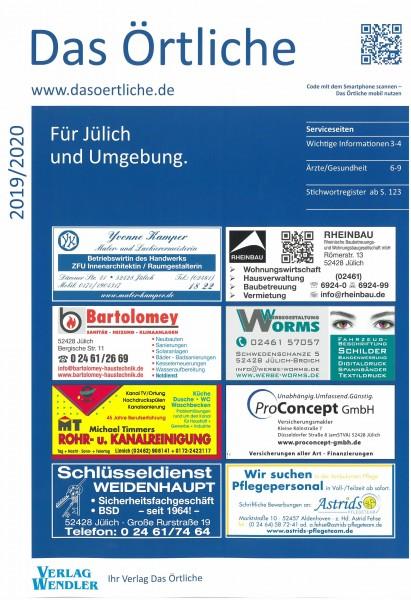 Das Örtliche für Jülich und Umgebung 2019/2020