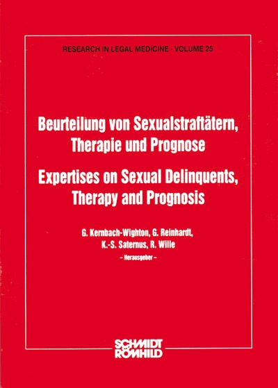 Beurteilung von Sexualstraftätern, Therapie und Prognose