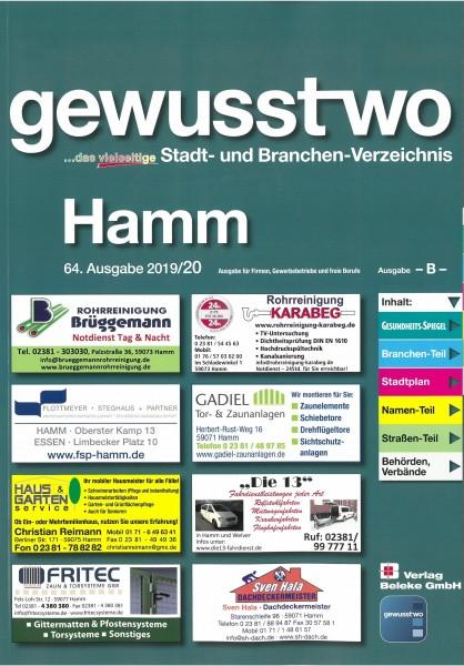 gewusst-wo Hamm 2019/20