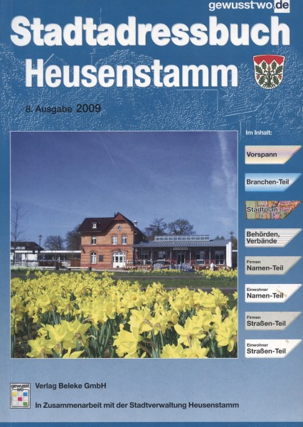 Stadtadressbuch Heusenstamm 2009