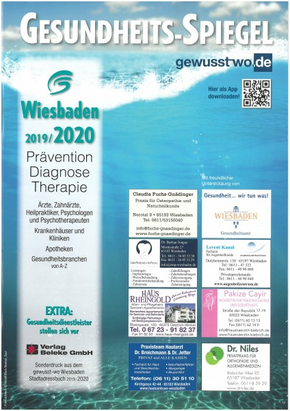 Gesundheits-Spiegel Wiesbaden 2019/2020