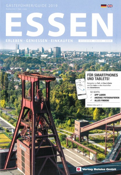 Gästeführer Essen 2019: Erleben - Genießen - Einkaufen [dt./engl.]