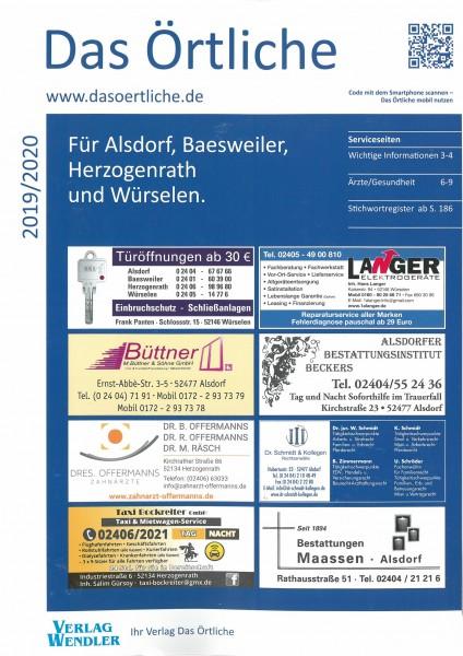 Das Örtliche für Alsdorf, Baesweiler, Herzogenrath und Würselen 2019/2020