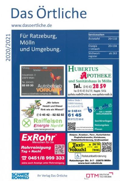 Das Örtliche für Ratzeburg, Mölln und Umgebung 2020/2021