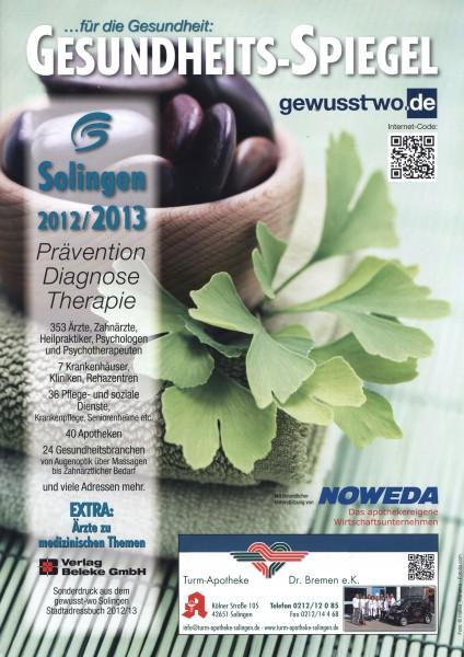 Gesundheits-Spiegel Solingen 2012/2013