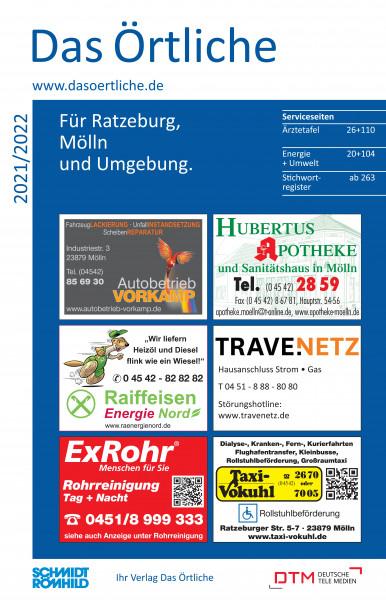 Das Örtliche für Ratzeburg, Mölln und Umgebung 2021/2022