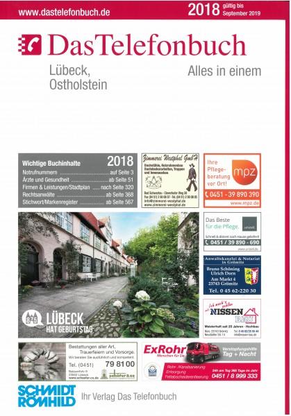 Das Telefonbuch Lübeck, Ostholstein 2018 / gültig bis September 2019