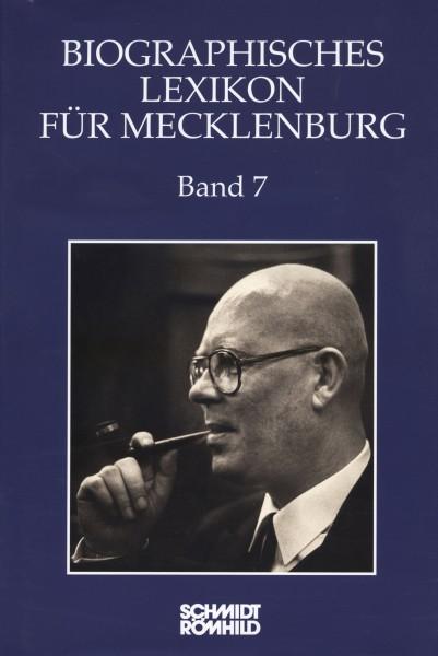 Biographisches Lexikon für Mecklenburg Band 7